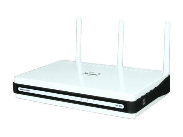 Refurbished: D-Link Xtreme Gigabit Router (DIR-655/RE) Wireless N300 | USB SharePort | Gigabit