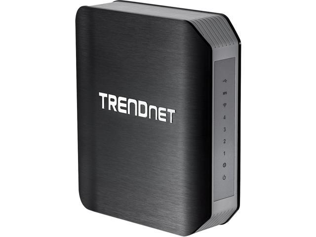 TRENDnet TEW-812DRU AC1750 Dual Band Wireless Router - 4 Gigabit port, IEEE 802.11 a/b/g/n/ac (draft 2.0)