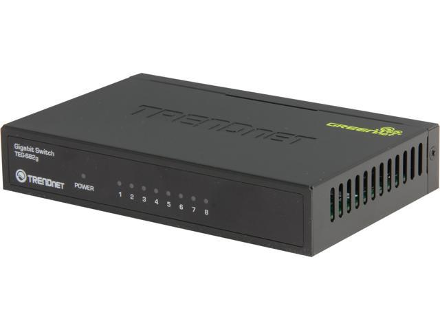 TRENDnet TEG-S82g Unmanaged 10/100/1000Mbps 8-Port Gigabit GREENnet Switch