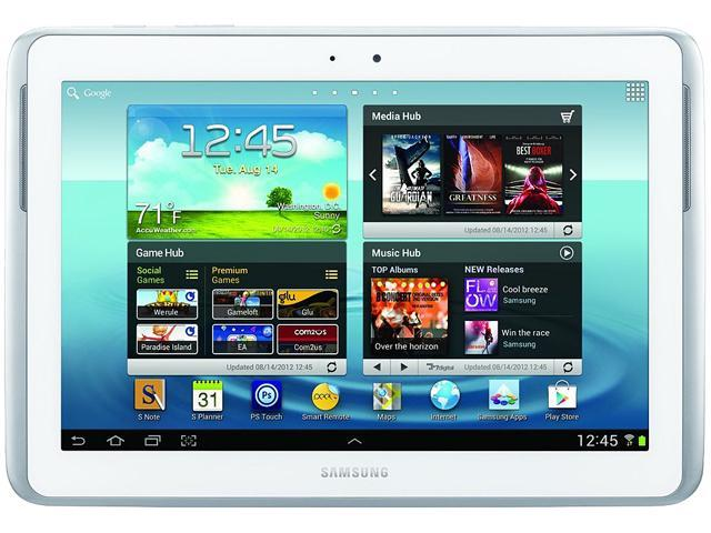 Refurbished: SAMSUNG Galaxy Note 10.1 Samsung Exynos 2GB Memory 16GB 10.1 inch Tablet PC Android 4.0 (Ice Cream Sandwich)