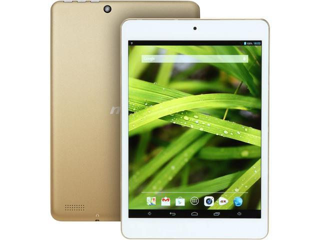MSI Primo 81 Android Tablet - 7.85 inch Touchscreen Quad-core CPU 1GB RAM 16GB Flash (White/Gold)