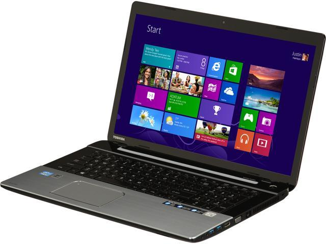 TOSHIBA Satellite S75-A7270 Intel Core i5 8GB Memory 750GB HDD 17.3 inch Notebook Windows 8