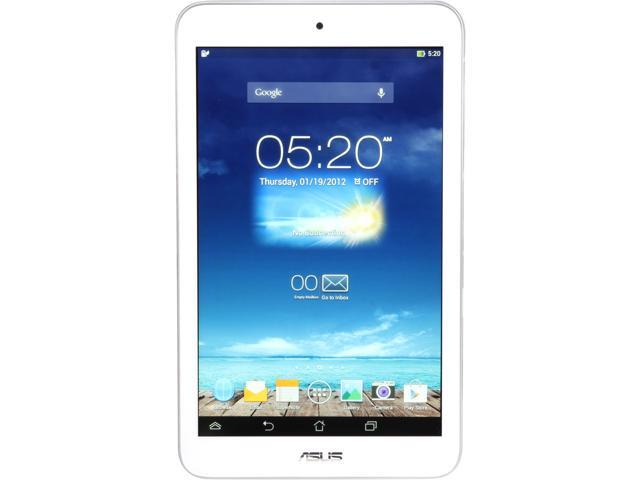 ASUS MeMO Pad 8 - Quad-Core 1GB RAM 16GB Flash 8.0 inch IPS Tablet, Android 4.2 – White Color (ME180A-A1-WH)