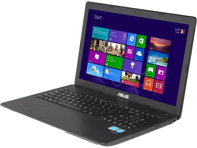 ASUS D550MA-DS01 Intel Baytrail-M N2815 (1.86GHz) Turbo 2.13GHz 4GB Memory 500GB HDD 15.6 inch Notebook Windows 8 64-bit