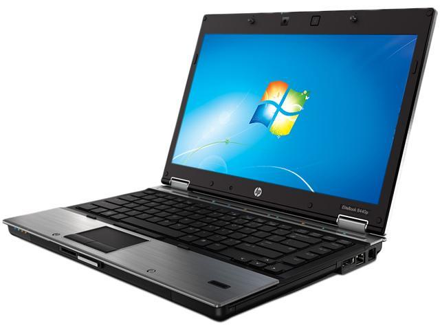 Refurbished: HP EliteBook 8440p (SJ747UP#ABA) Notebook Intel Core i7 620M (2.66GHz) 4GB Memory 250GB HDD NVIDIA NVS 3100M 14.1 inch Windows 7 Professional