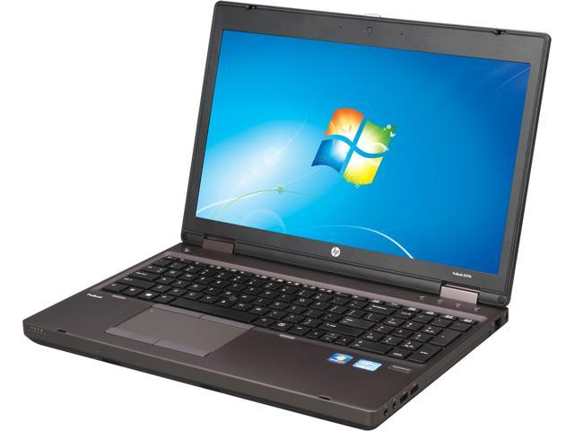HP ProBook 6570b (C4R43US#ABA) Notebook Intel Core i5 3320M (2.60GHz) 4GB Memory 320GB HDD Intel HD Graphics 4000 15.6 inch Windows 7 Professional 64-Bit
