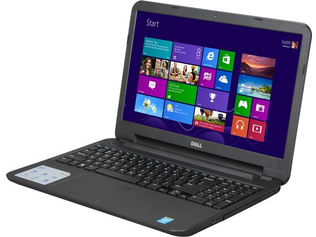 DELL Inspiron 15 (i15RV-8526BLK) Notebook Intel Core i5 4200U (1.60GHz) 6GB Memory 750GB HDD Intel HD Graphics 4400 15.6 inch Windows 8