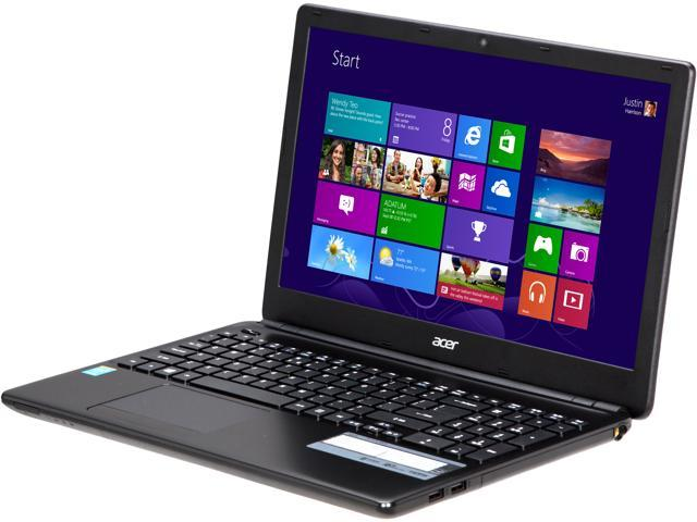Acer Aspire E1-572-6870 Intel Core i5 4200U (1.60GHz) 4GB Memory 500GB HDD 15.6 inch Notebook Windows 8