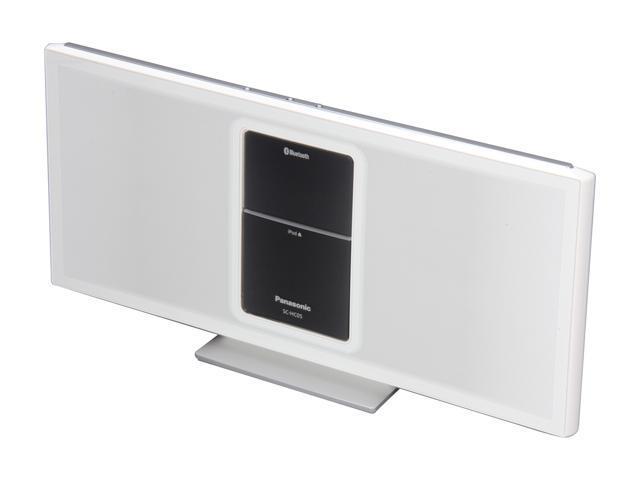Panasonic SC-HC05 Bluetooth iPod Speakers Dock - White