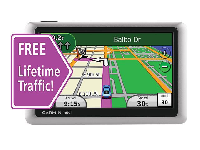 GARMIN nüvi 1450T 5.0 Inch Portable GPS with Lifetime Map Update Card (equivalent to the 1450LMT)