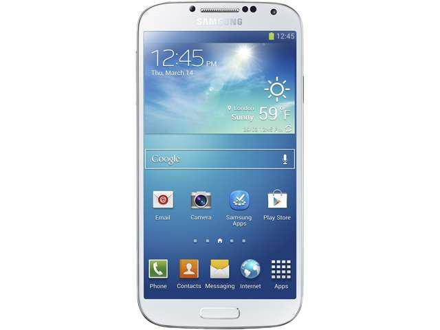 Samsung Galaxy S4 I9500 (Unlocked) 16GB White Frost 3G 5 inch Super AMOLED I9500