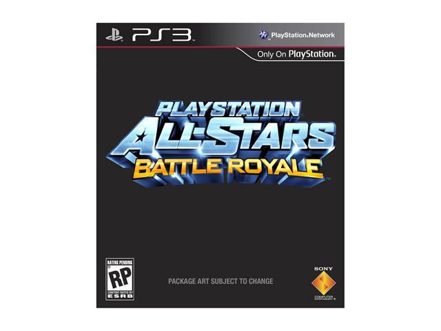 Playstation All Stars Battle Royale Playstation3 Game SONY