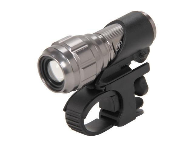Rosewill RLFL-11002 3W 220 Lumen Cree LED Aluminum Flashlight w/ Bicycle Bracket