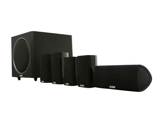 Polk Audio RM510 5.1 CH High Performance Home Theater Speaker System