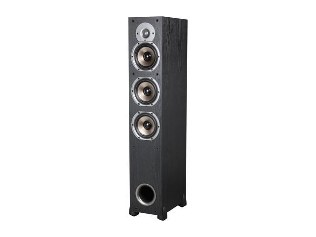Polk Audio New Monitor 65T Three-Way Ported Floorstanding Loudspeaker (Black) Each