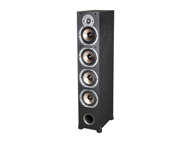 Polk Audio New Monitor 75T Four-Way Ported Floorstanding Loudspeaker (Black) Each