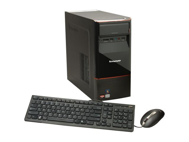 lenovo H415 (30991VU) Desktop PC AMD Dual-Core Processor A4-3420(2.8GHz) 6GB DDR3 500GB HDD Capacity AMD Radeon HD 6410D Windows 7 Home Premium 64-Bit