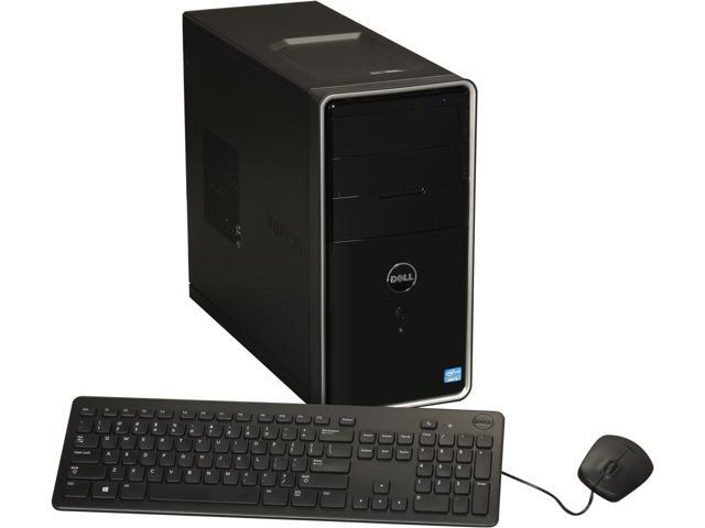 DELL Inspiron Intel Core i5 8GB DDR3 1TB HDD Capacity Desktop PC Windows 8 660 (i660-5629BK)