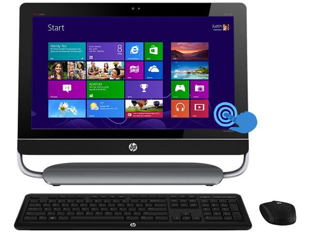 Refurbished: HP ENVY Intel Core i5 8GB DDR3 2TB HDD Capacity 23 inch Touchscreen Desktop PC Windows 8 64-Bit 23-d038c (H3Y42AAR#ABL)