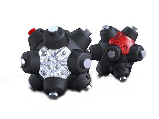 Striker Magnetic Light Mine Professional - Hands Free LED Flashlight - Aim 360 Degrees - 4 power modes