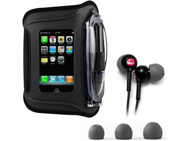 H2O Audio Amphibx Waterproof Armband Case & Headphones for iPhone or iPod touch & Droid
