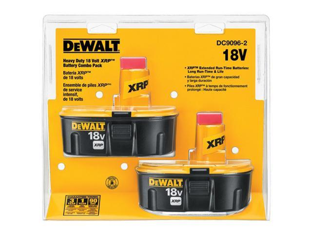 DeWalt DC9096-2 XRP 18V 2.4 Ah Ni-Cd Battery 2-Pack