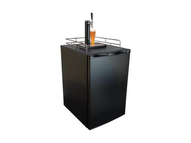 KeggerMeister KM2800BK Kegerator Beer Keg Fridge Brew Dispenser