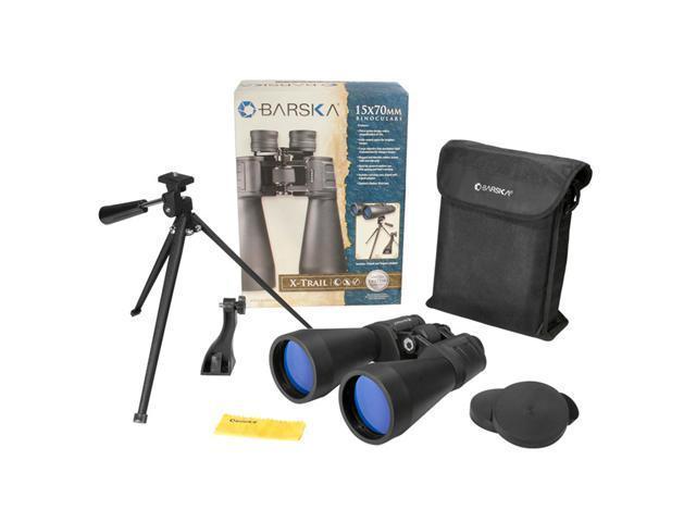 X-TRAIL 15x70 Large Porro Prism Binoculars w/Tripod & Tripod Adapter