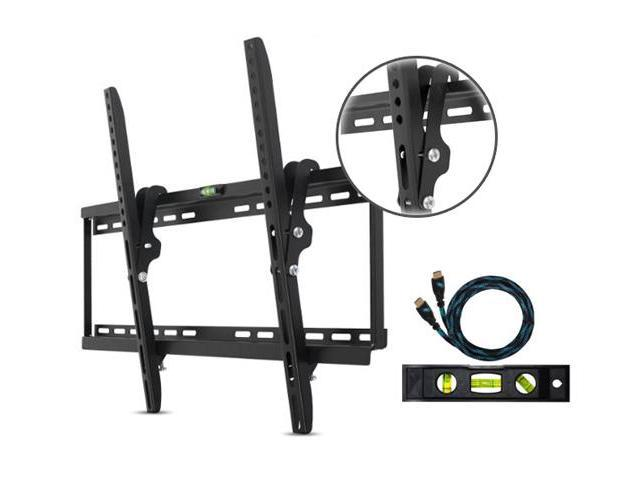 Cheetah Mounts 32-65 Inch Ultra Flush Flat Screen TV Wall Mount With 15-Degree Tilt & Integrated Bubble Level!
