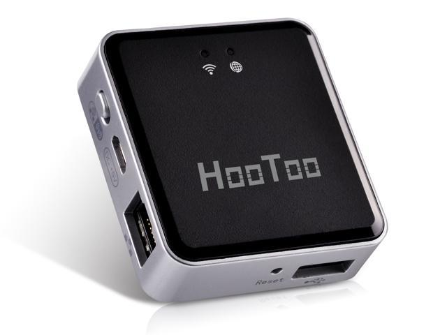 HooToo HT-TM02 TripMate Nano Wireless N150 Portable Travel Router - USB Storage Media Sharing, Access Point, Wi-Fi Router and Bridge
