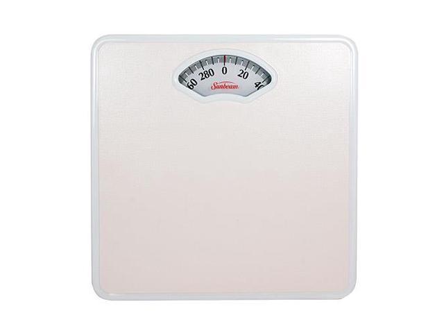 Sunbeam S47d 01 Easy Read Dial Og Precision Bath Scale White