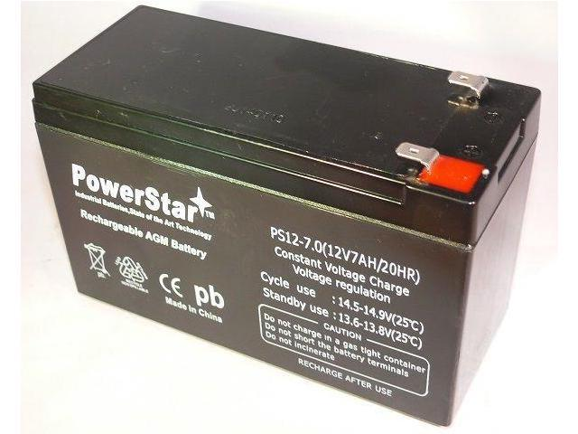 Battery 12V 7Ah UPS Battery Replacement for APC Back-UPS ES BE550G -  Newegg com