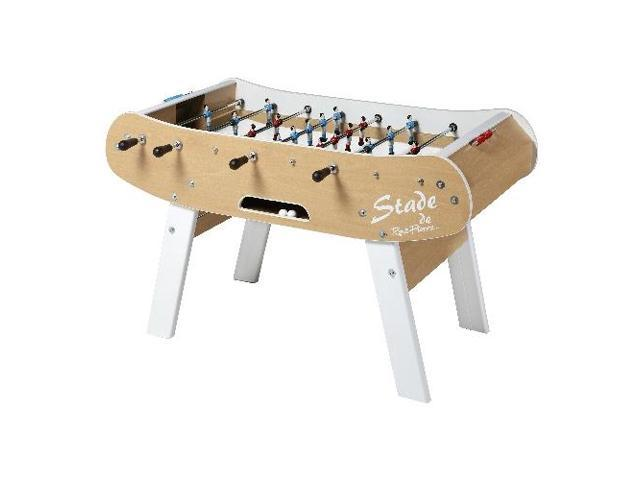 René Pierre Le Stade Foosball Table With Safety Telescoping Rods - Single goalie foosball table