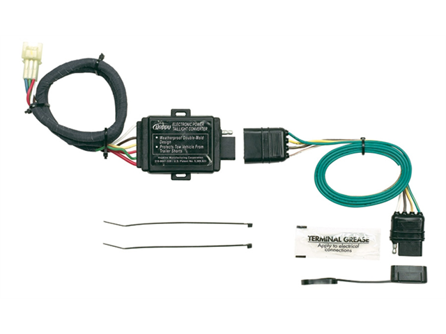 hopkins 43855 plug in simple vehicle to trailer wiring connector rh newegg com
