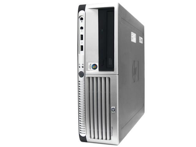 Refurbished: HP DC7600 Desktop Computer - 2.8GHz Pentium D Processor - 2GB - Windows 7 Home Premium (1 Year Warranty)