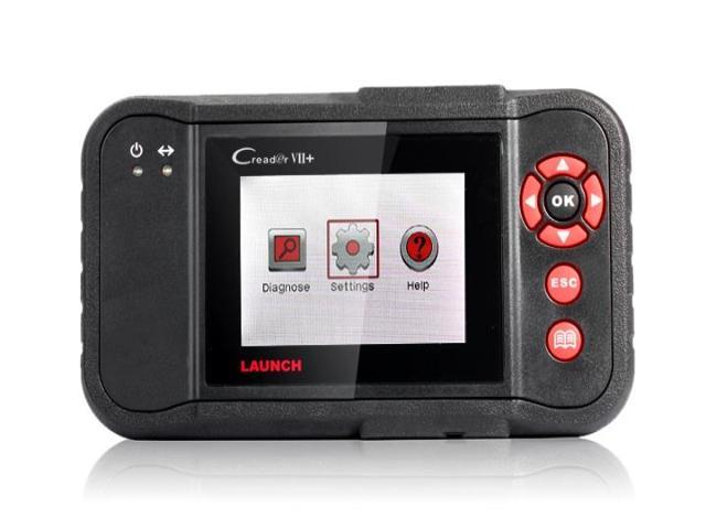 CReader VII+ Auto Code Reader Launch X-431 Creader 7 plus Equal to CRP123