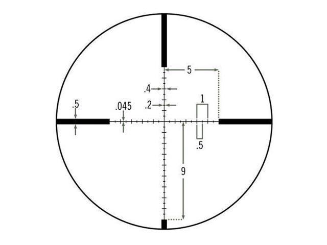 Vortex Viper Hs T 4 16x44 Vmr 1 Riflescope Mrad Matte Black