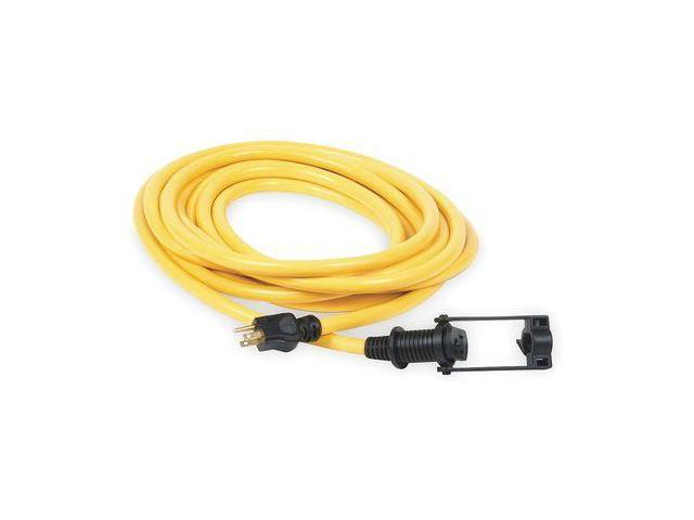 POWER FIRST 1XUV2 Extension Cord, E-Zee Lock(TM), 100Ft, 10/3 ...