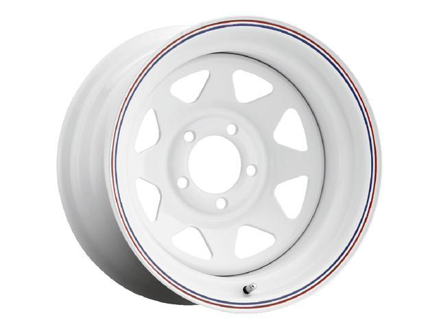 """4Pcs 14/"""" Inch Lightening Sports Wheel Cover Trim Set Black With Red Ring Rims"""
