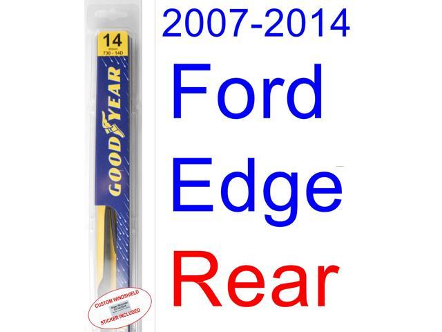 Ford Edge Wiper Blade Rear Goodyear Wiper Blades Assurance