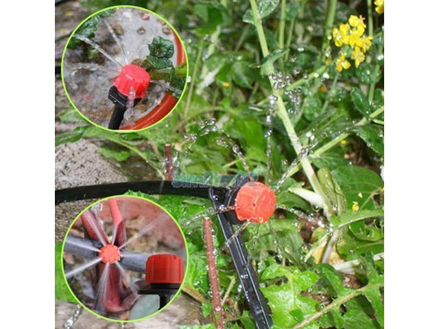25m DIY Micro Drip Irrigation System Auto Timer Self Plant Watering Automatic Drip Watering System For Seedlings on automatic garden watering systems, automatic plant watering device, automatic water system bucket,