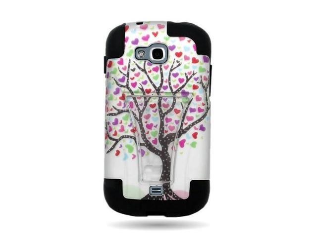 Love Tree Samsung Galaxy Axiom R830 Admire 2 Hybrid Case Stand Cover W/  Skin - Newegg com