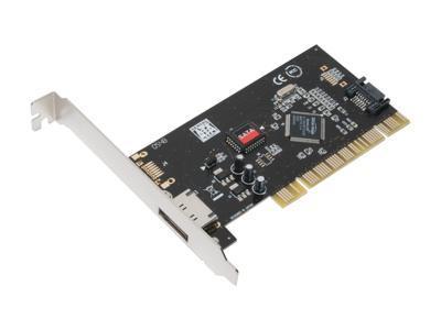 SYBA SD SATA 1E1I PCI Controller Card
