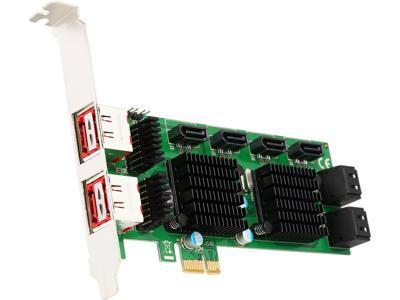 SYBA SD PEX40105 SATA 8 Port III And ESATA 6G PCI E