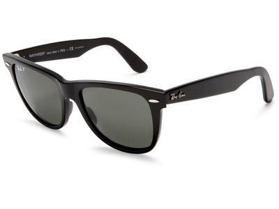 2ddbace5d0 Ray Ban Original Wayfarer Acetate Black Frame Green Classic G-15 Lens  Unisex Sunglasses RB2140 - Newegg.com
