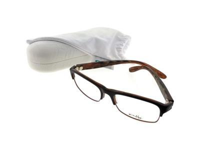 2ac0948cafb Oakley OX1062-04 Irreverent Unisex Brown Frame Clear Lens Genuine Eyeglasses  NWT