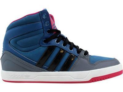 90b13d00d Adidas Women s Court Attitude W Blue Black-White G99927 Size 7.5