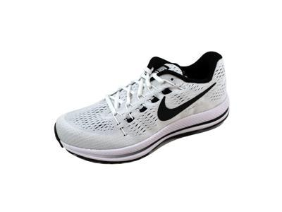 ce8a166a5b0 Nike Men s Air Zoom Vomero 12 White Black-Pure Platinum 863762-100 Size