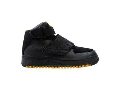 official photos 75f31 aaba4 Nike Girls Air Jordan Force XX 20 Black Yellow Ochre-Vivid Blue Grade-