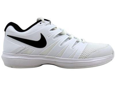 00e77a4e972 Nike Men s Air Zoom Prestige HC White Black AA8020-100 Size 5